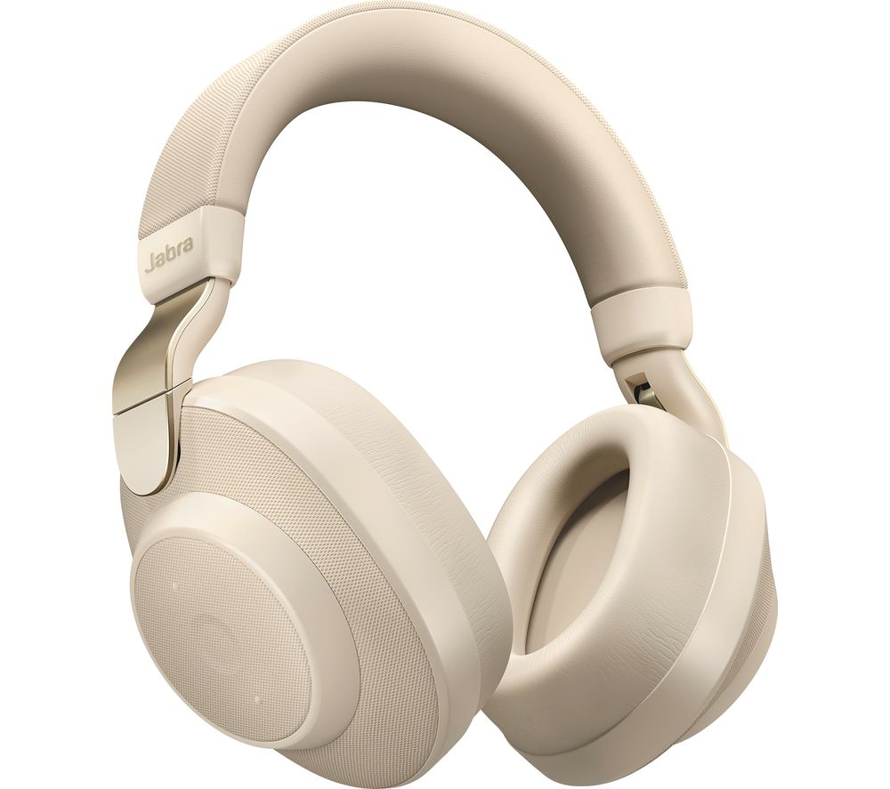JABRA Elite 85h Wireless Bluetooth Noise-Cancelling Headphones - Gold Beige