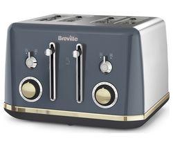 BREVILLE Mostra VTT931 4-Slice Toaster - Grey