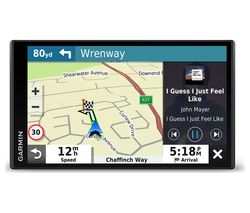 "GARMIN DriveSmart 65 MT-S 6.9"" Sat Nav with Amazon Alexa - Full Europe Maps"