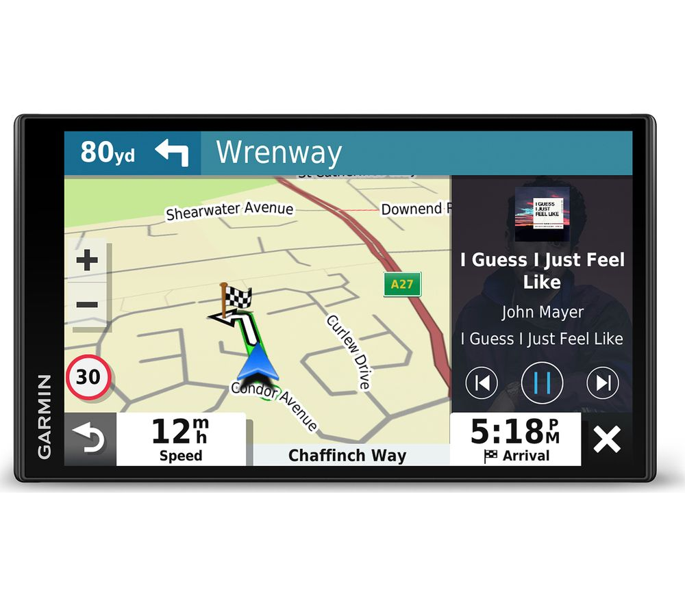 GARMIN DriveSmart 65 MT-S 6.9? Sat Nav with Amazon Alexa - Full Europe Maps