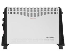 RUSSELL HOBBS RHCVH4002 Portable Convector Heater - Black & White