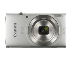 IXUS 185 Compact Camera Kit with 32 GB SD Card and Case  - Silver