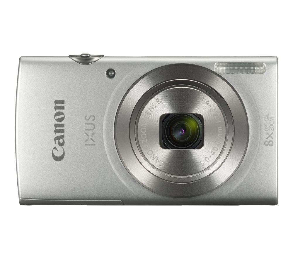 CANON IXUS 185 Compact Camera Kit with 32 GB SD Card and Case  - Silver, Silver