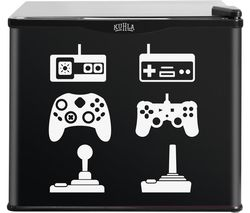 KUHLA KCLRF17-2005 Mini Fridge - Game Console
