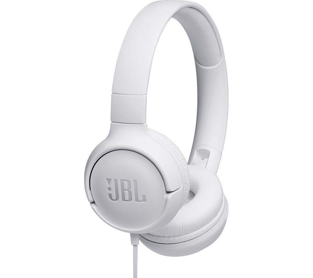 JBL Tune 500 Headphones - White