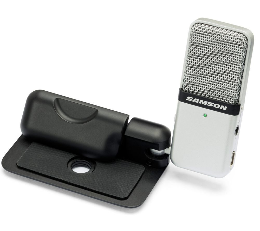 Image of SAMSON Go Mic USB Microphone - Silver, Silver