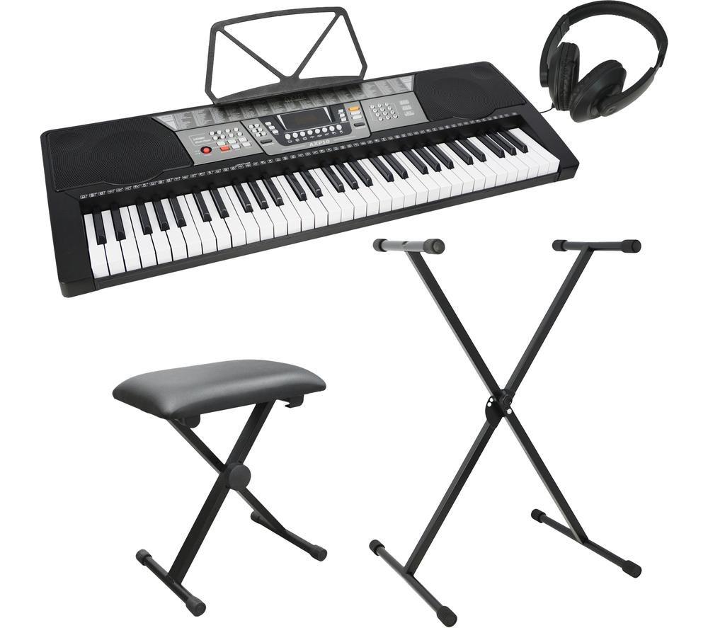 AXUS AXP10 Electronic Keyboard Pack - Black