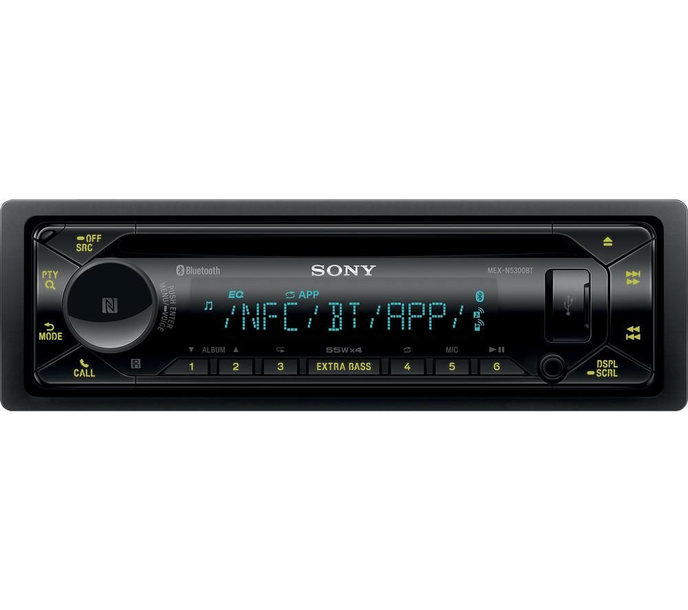 Image of SONY MEX-N5300BT Smart Bluetooth Car Radio - Black, Black