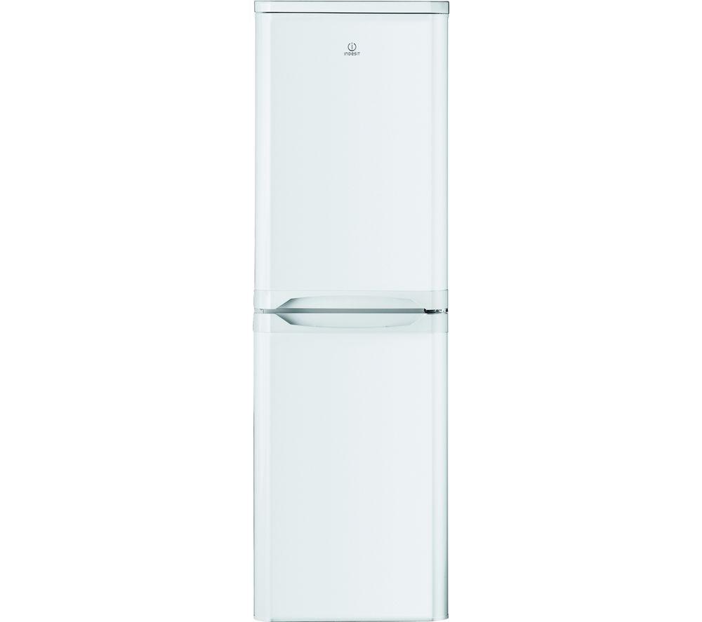 INDESIT IBD 5517 W UK 1 50/50 Fridge Freezer - White, White