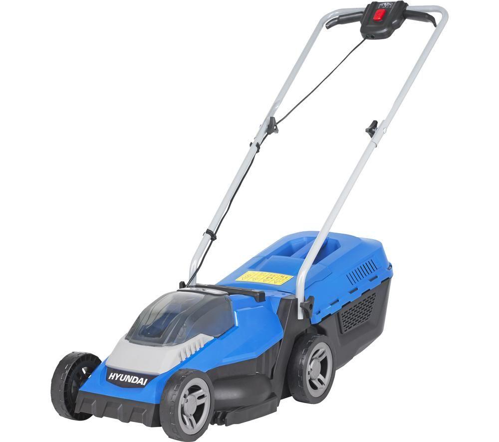 HYUNDAI HYM40LI330P Cordless Rotary Lawn Mower - Blue