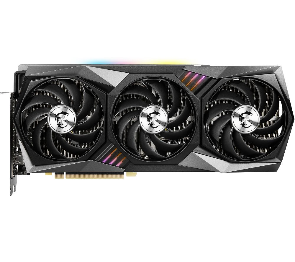 MSI GeForce RTX 3080 10 GB GAMING X TRIO Graphics Card
