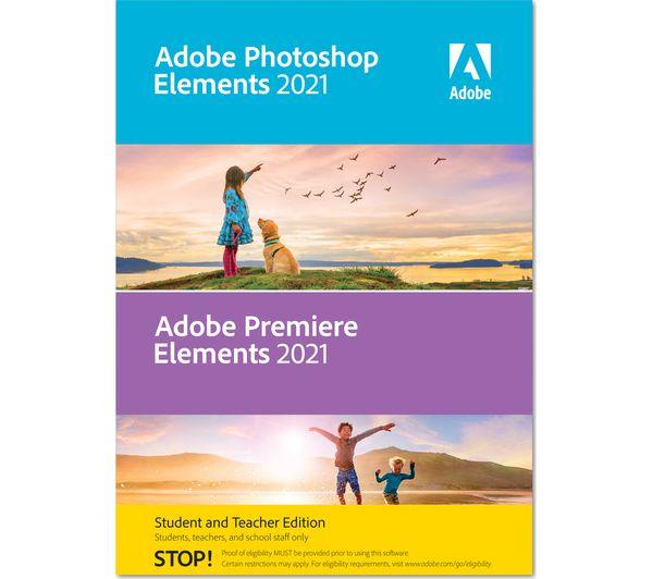 Image of ADOBE Photoshop & Premier Elements - 2021