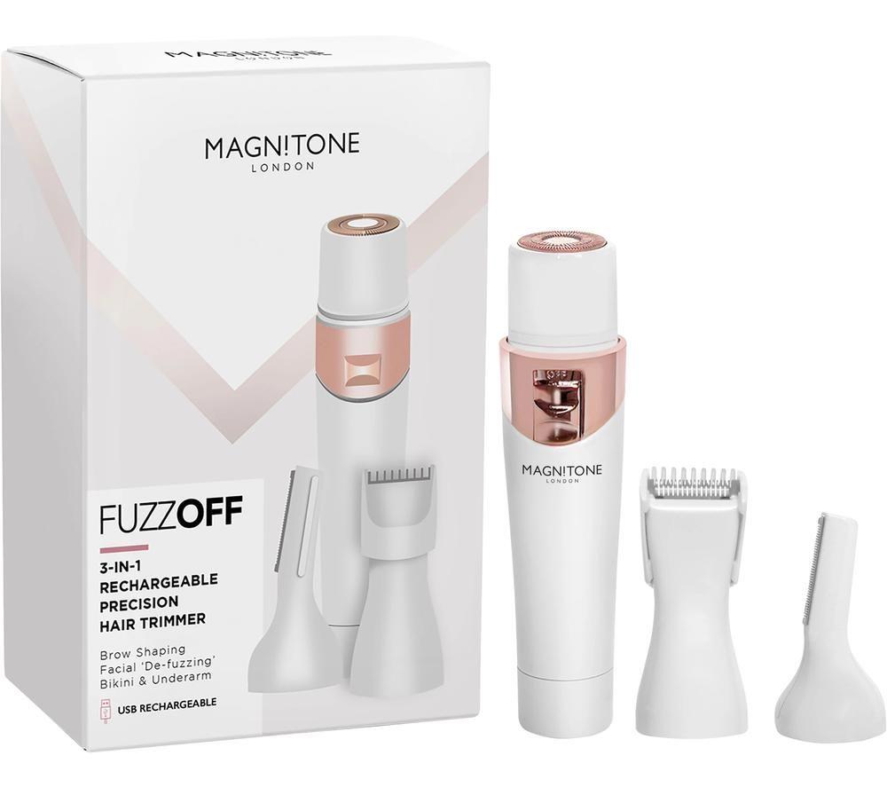 MAGNITONE FuzzOff MZ01W Trimmer - White, White