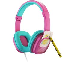 Colour & Swap Kids Headphones - Pink