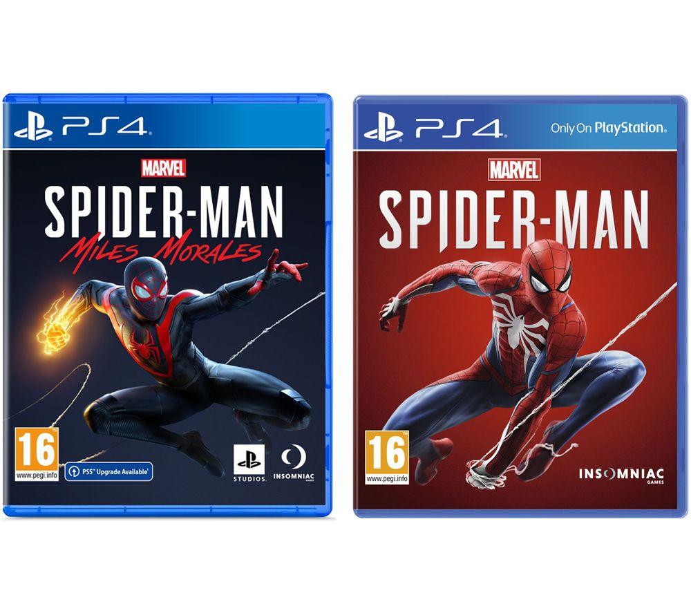 PLAYSTATION Marvel's Spider-Man: Miles Morales & Marvel's Spider-Man Bundle