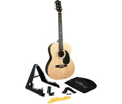 W-101-N-PK Acoustic Guitar Bundle - Natural
