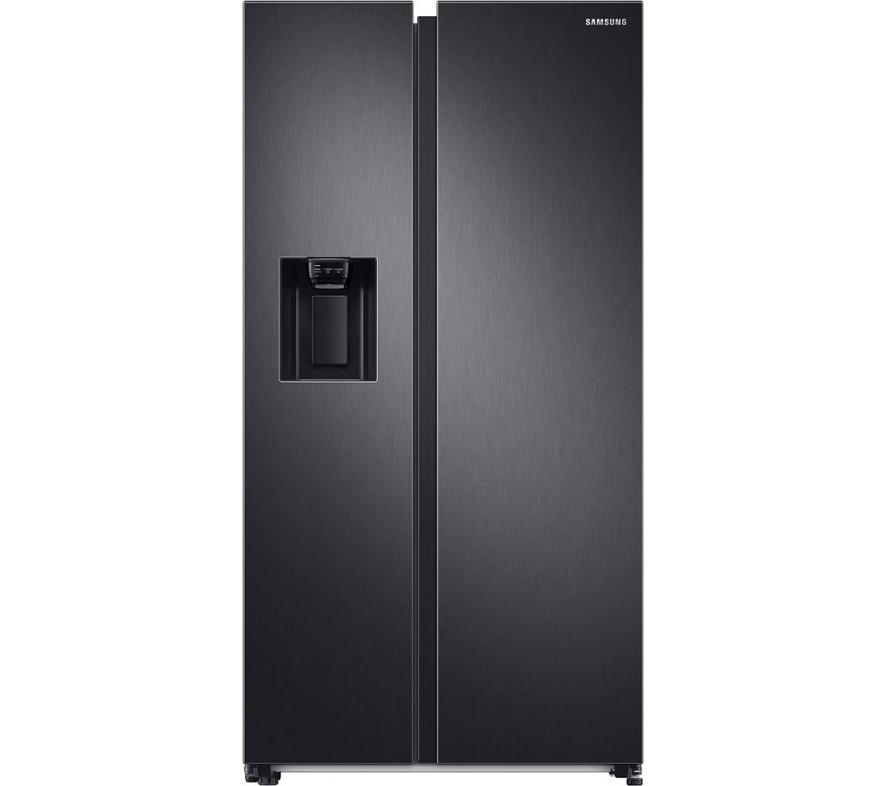 SAMSUNG RS8000 RS68A8530B1/EU American-Style Fridge Freezer - Black Steel