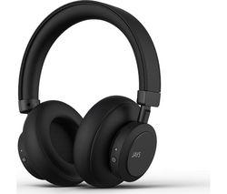 q-Seven Wireless Bluetooth Noise-Cancelling Headphones - Black
