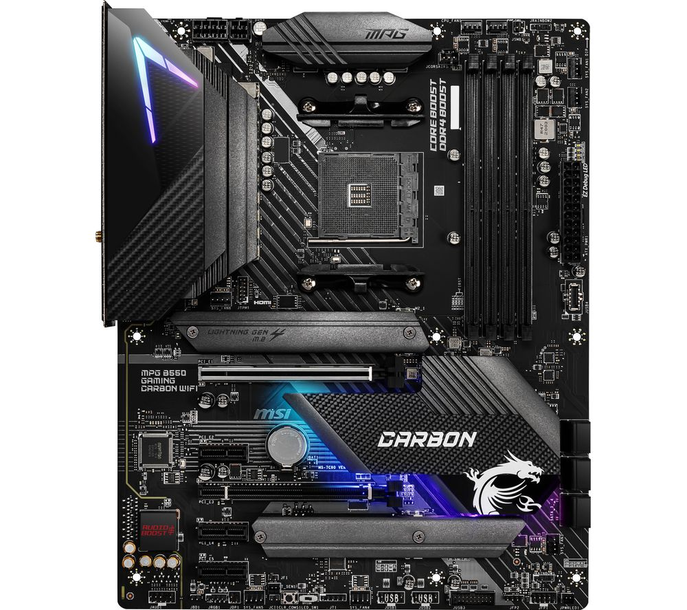 Image of MSI MPG B550 GAMING CARBON WIFI AM4 Motherboard