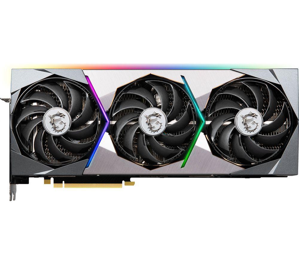 Image of MSI GeForce RTX 3080 Ti 12 GB SUPRIM X Graphics Card