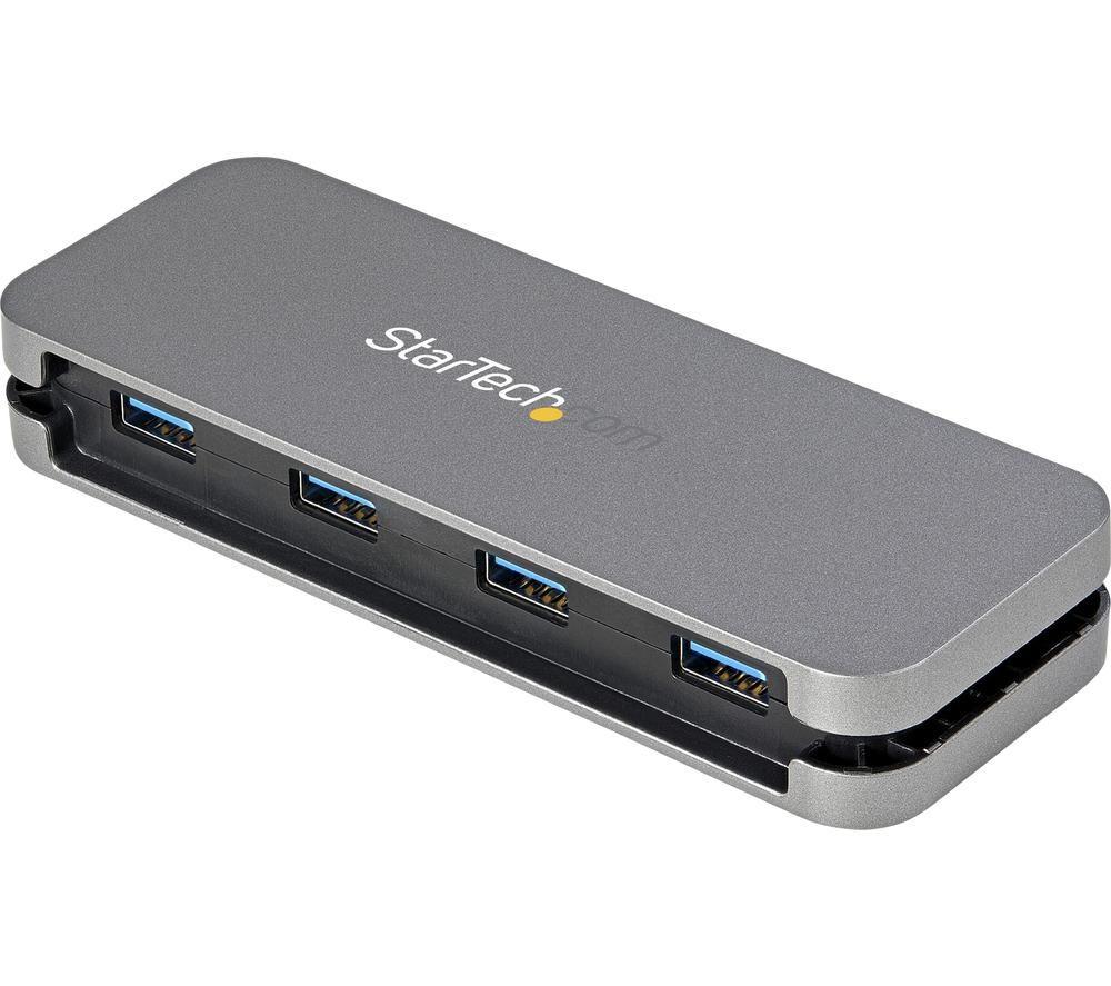 Image of STARTECH HB30CM4AB 4-port USB Type-C Connection Hub
