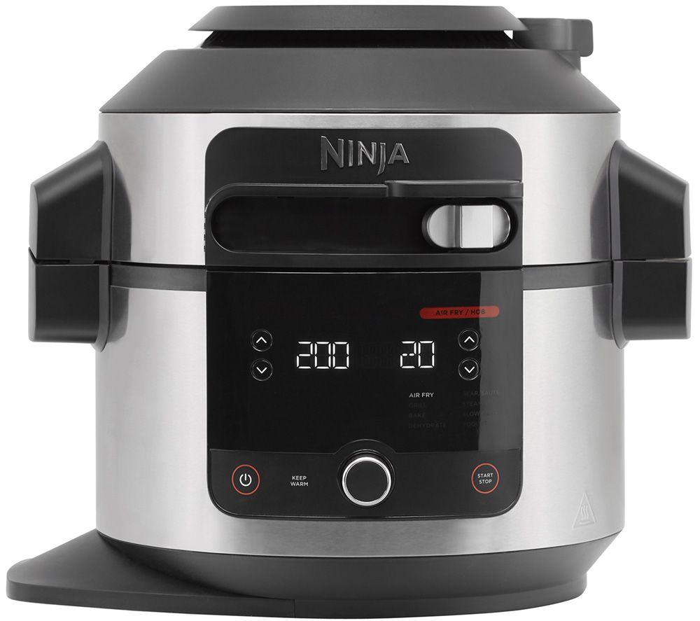 NINJA Foodi SmartLid OL550UK Multicooker - Stainless Steel & Black