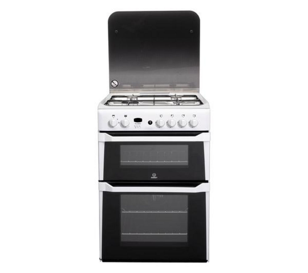 INDESIT ID60G2W Gas Cooker - White