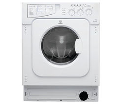 INDESIT Ecotime IWDE146 Integrated Washer Dryer - White