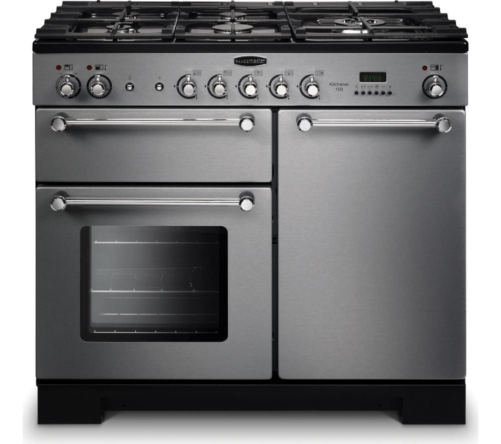 buy rangemaster kitchener 100 dual fuel range cooker. Black Bedroom Furniture Sets. Home Design Ideas