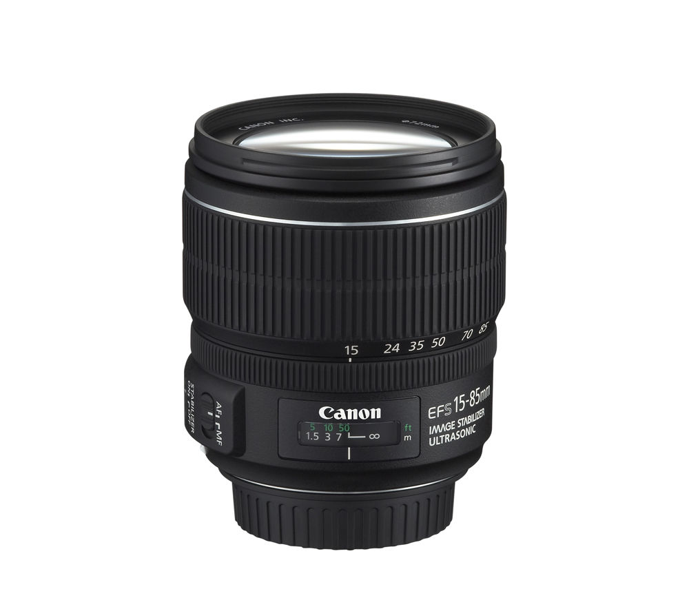 CANON EF-S 15-85 mm f/3.5-5.6 IS USM Zoom Lens