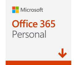 MICROSOFT Office 365 Personal - 1 year for 1 user (download)