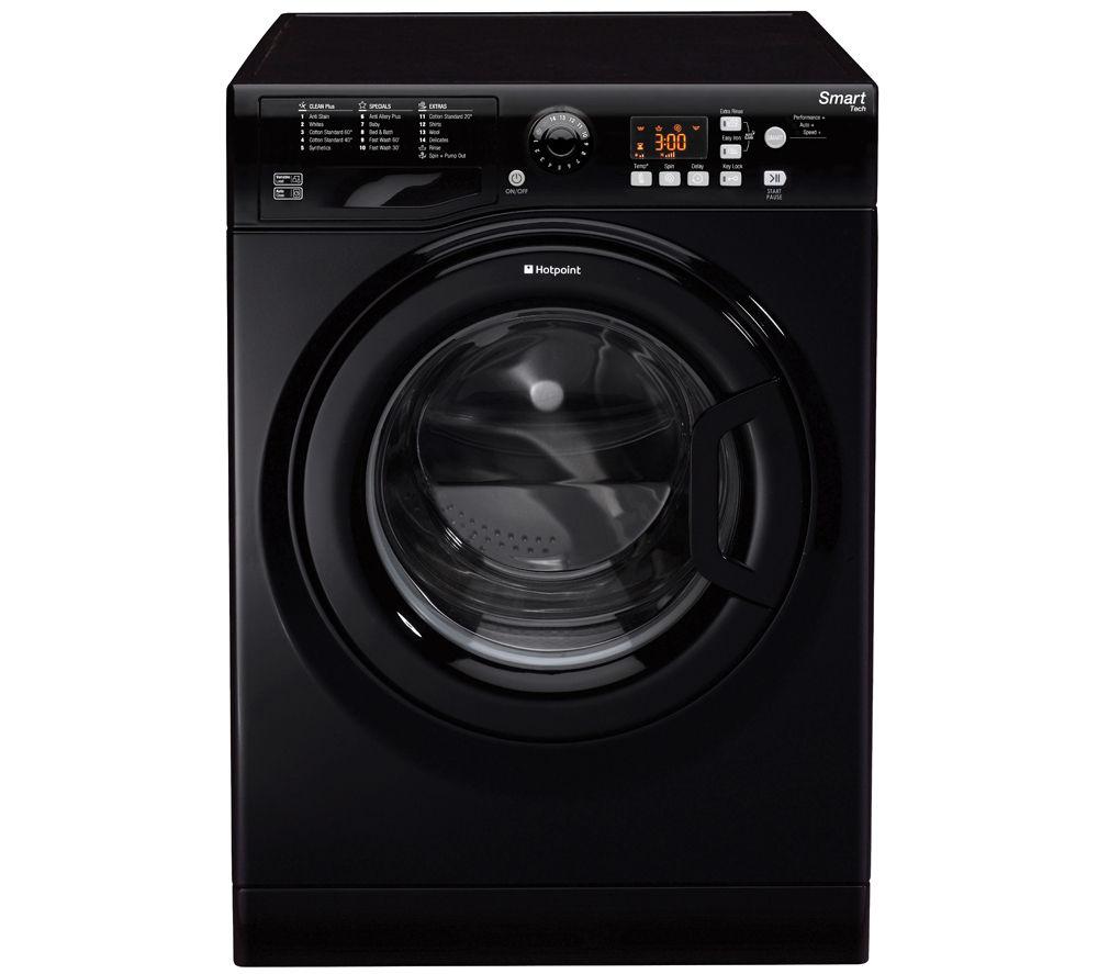 buy hotpoint wmfug842k smart washing machine black. Black Bedroom Furniture Sets. Home Design Ideas