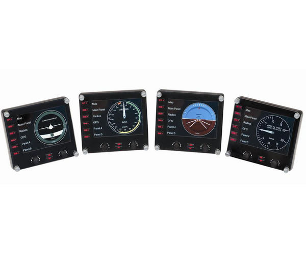 Image of SAITEK Pro Flight Instrument Panel