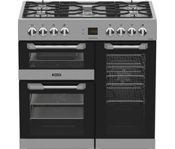 LEISURE Cuisinemaster CS90F530X Dual Fuel Range Cooker - Stainless Steel Best Price, Cheapest Prices