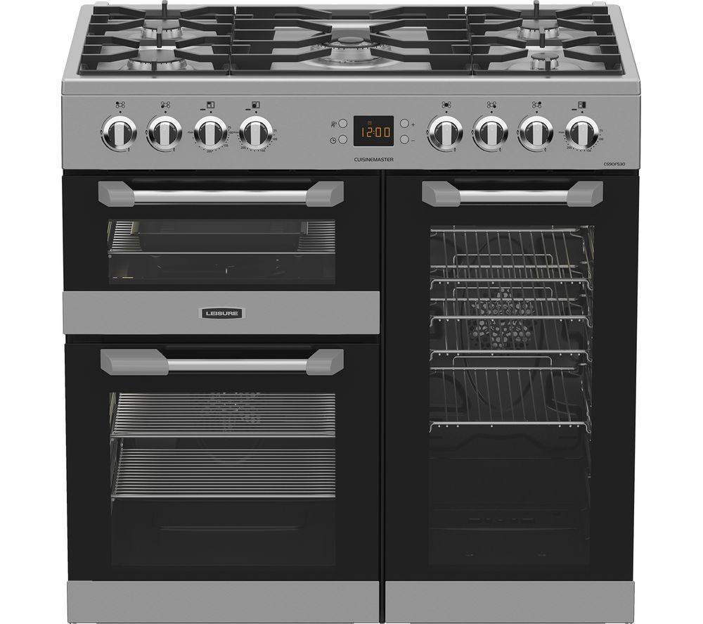 Compare retail prices of Leisure Cuisinemaster CS90F530X Dual Fuel Range Cooker to get the best deal online