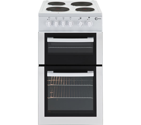 Image of FLAVEL FTCP50W 50 cm Electric Solid Plate Cooker - White