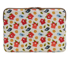 "GOJI 13"" Laptop Sleeve - Birdhouse"