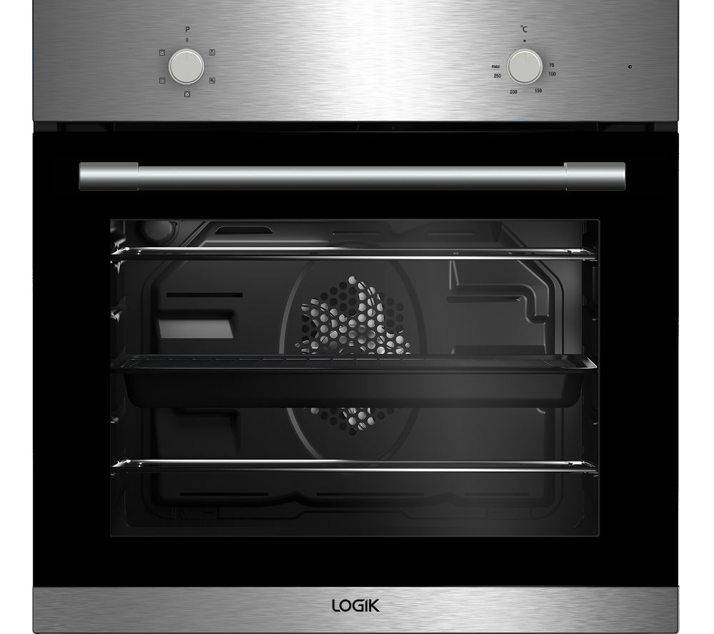 Buy Logik Lbfanx16 Electric Oven Stainless Steel Free