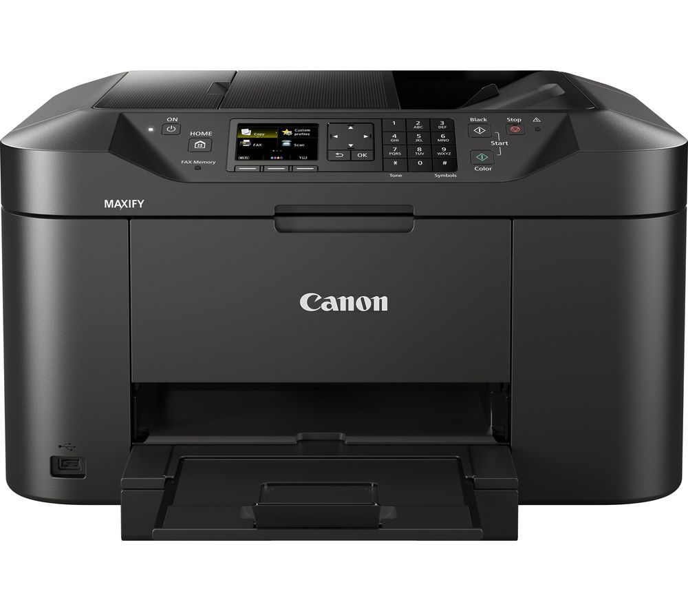 CANON Maxify MB2150 All-in-One Wireless Inkjet Printer with Fax + PGI-1500XL Black & Colour Ink Cartridges - Multipack