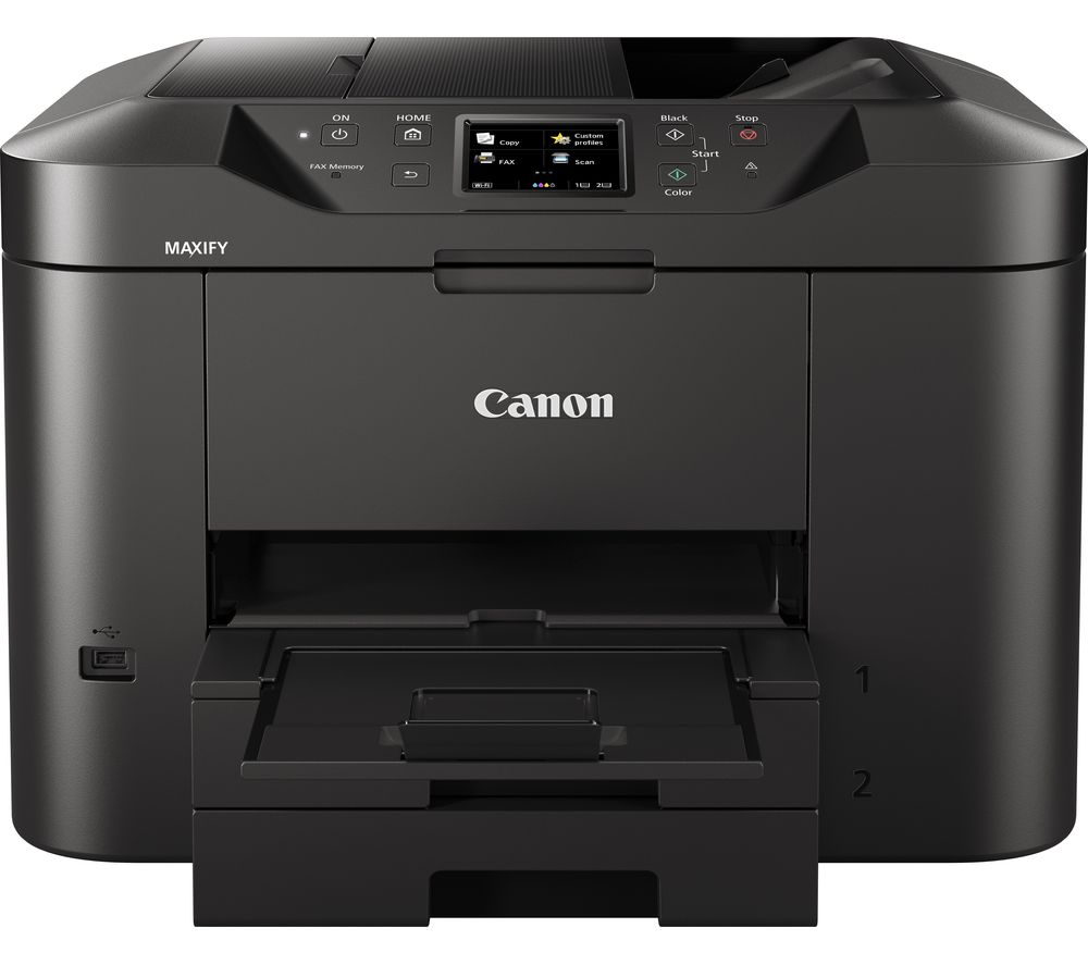 CANON Maxify MB2750 All-in-One Wireless Inkjet Printer with Fax, Black
