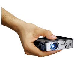 PHILIPS PicoPix PPX3417W Short Throw Portable Projector