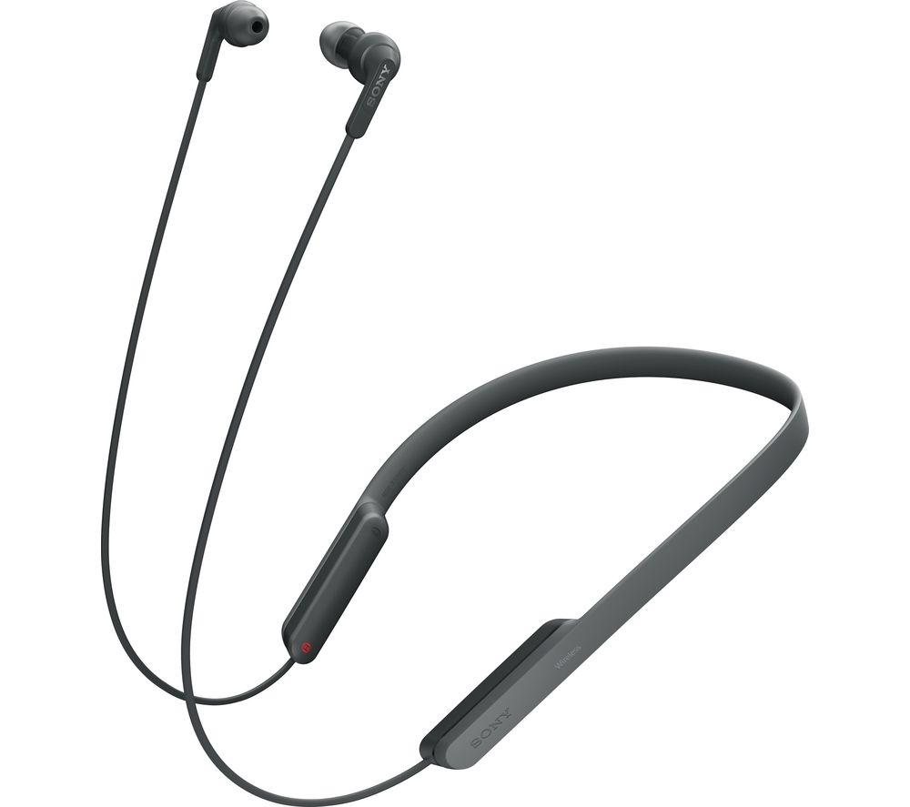 SONY MDR-XB70BT Wireless Bluetooth Headphones - Black