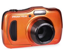 PRAKTICA Luxmedia WP240 Compact Camera - Orange