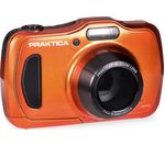 PRAKTICA Luxmedia WP240-O Compact Camera - Orange