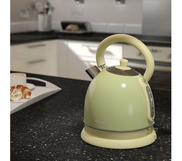 Swan Green Kitchen Appliances