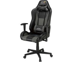 AFX Firebase: C02 Gaming Chair - Black & Grey