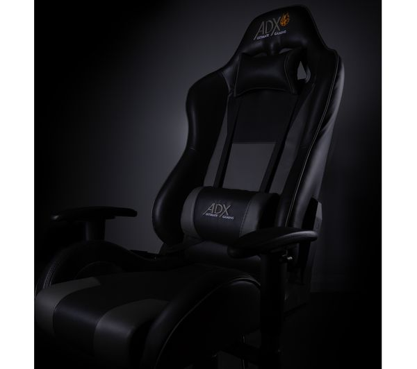 Awesome Adxch0218 Adx Firebase C02 Gaming Chair Black Grey Squirreltailoven Fun Painted Chair Ideas Images Squirreltailovenorg