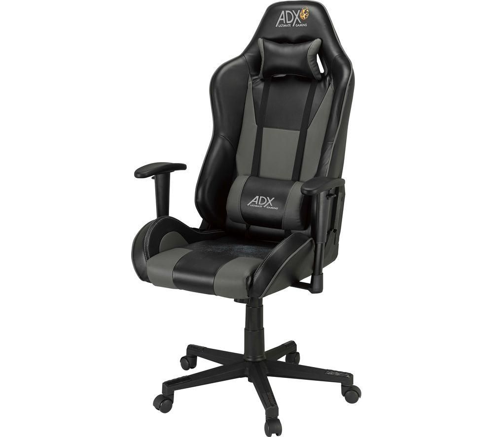 ADX Firebase: C02 Gaming Chair - Black & Grey