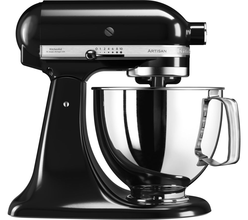 Buy KITCHENAID Artisan 5KSM125BOB Stand Mixer - Onyx Black | Free Delivery | Currys