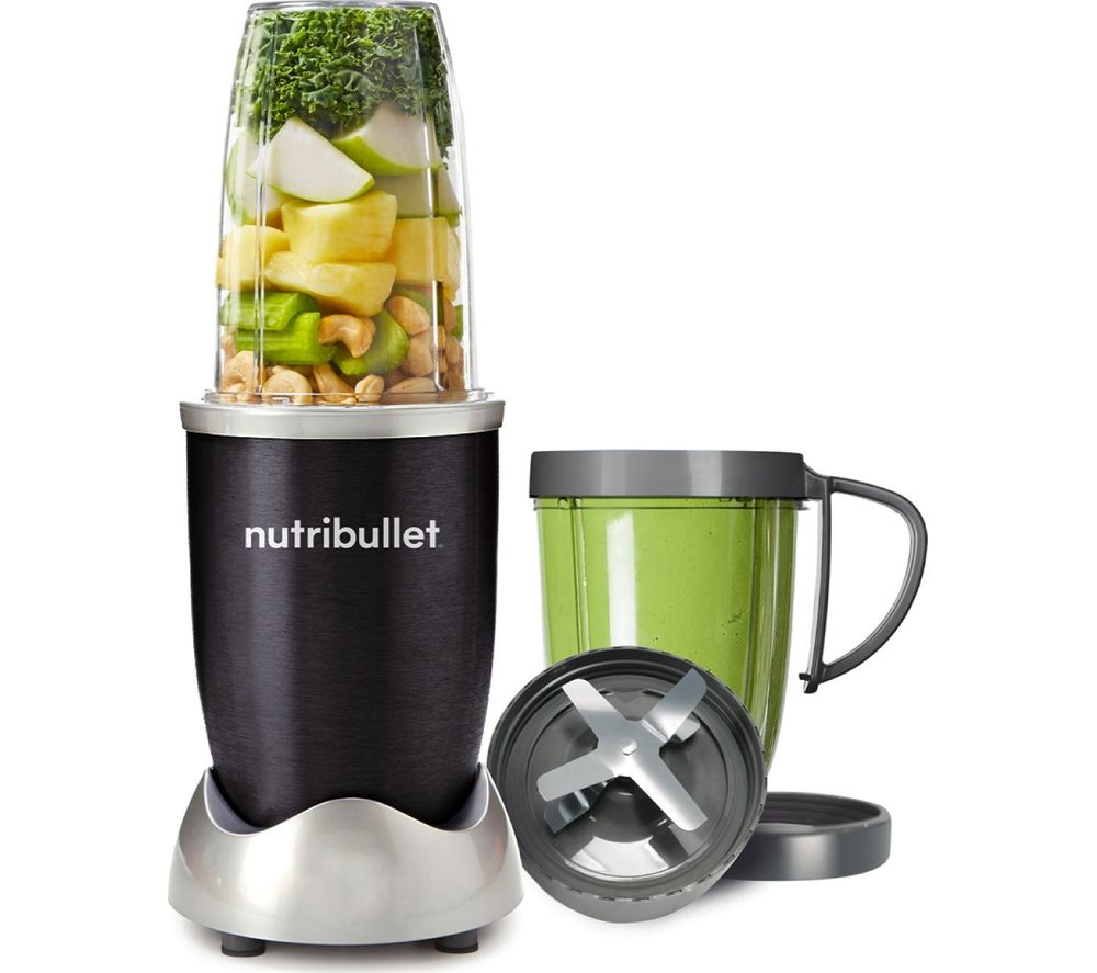 NUTRIBULLET 600 8-piece Blender - Black